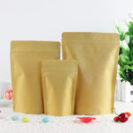 50Pcs-Lot-9-14cm-Stand-Up-Thick-Retro-Kraft-Paper-Doypack-Aluminum-Foil-Zipper-Pack-Pouch